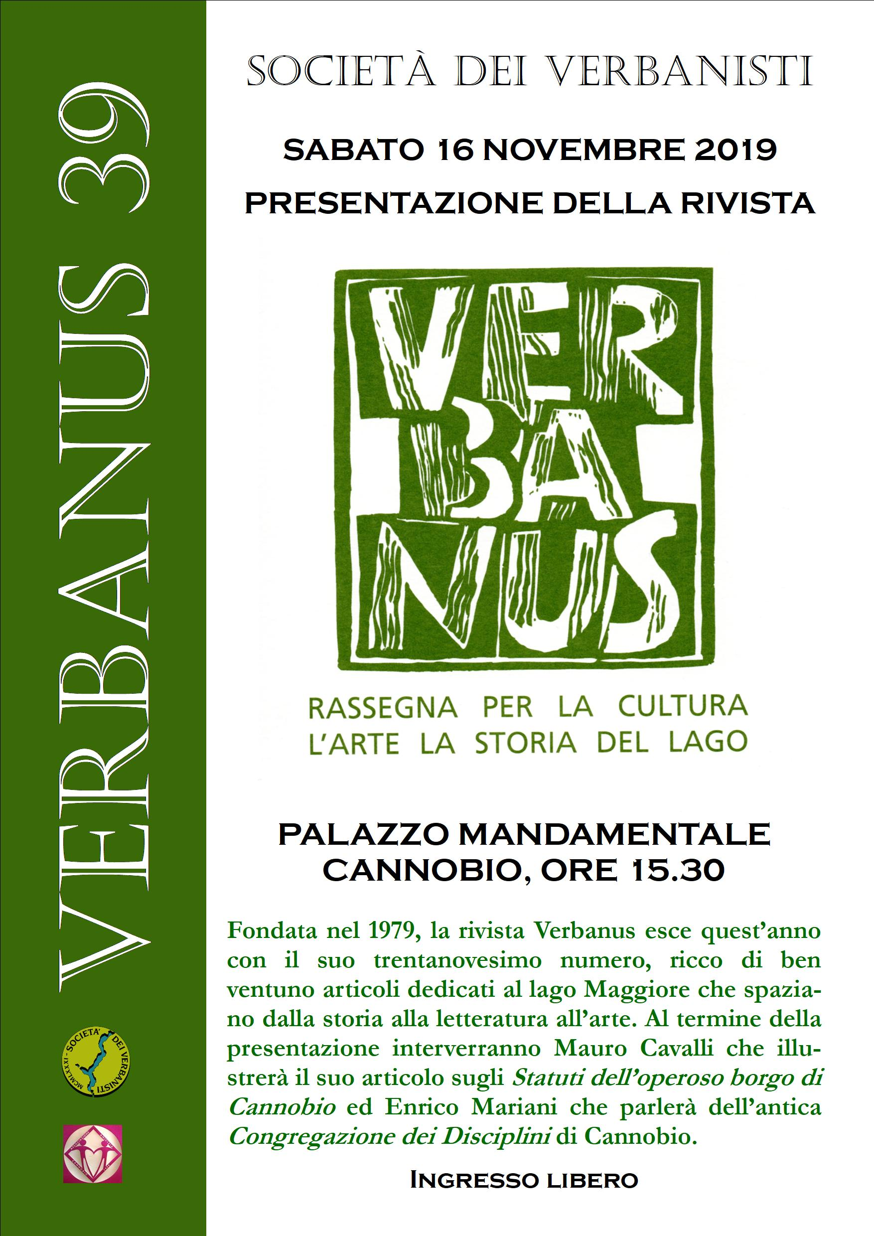 Cannobio Verbanus 39